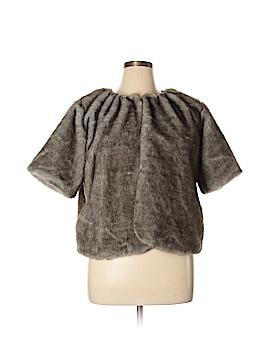 Simply Vera Vera Wang Faux Fur Jacket Size XL