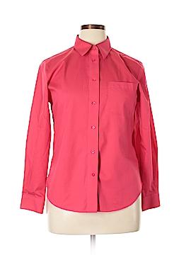 Foxcroft Long Sleeve Blouse Size 14 (Petite)