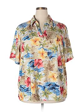 C.D. Daniels Short Sleeve Top Size 3X (Plus)