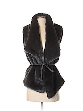 Ann Taylor LOFT Faux Fur Vest Size XS