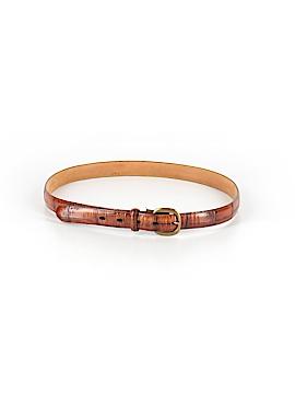Eddie Bauer Leather Belt Size XL
