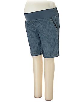New Additions Maternity Denim Shorts Size L (Maternity)
