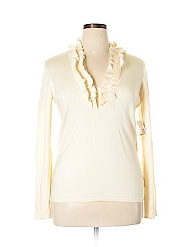 Lauren by Ralph Lauren Silk Pullover Sweater Size XL