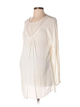 Liz Lange Maternity for Target Long Sleeve Blouse Size XS (Maternity)