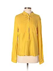 Maeve Women Long Sleeve Blouse Size 8 (Petite)