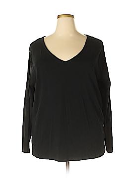 Ava & Viv Long Sleeve T-Shirt Size 3X (Plus)