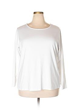 Lane Bryant Long Sleeve T-Shirt Size 22 - 24 Plus (Plus)