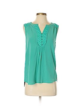 Daniel Rainn Sleeveless Silk Top Size S