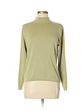 Stephanie Andrews Long Sleeve Silk Top Size L