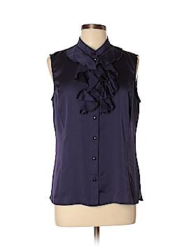Alex Marie Short Sleeve Blouse Size L