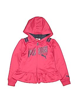 Puma Zip Up Hoodie Size M (Kids)