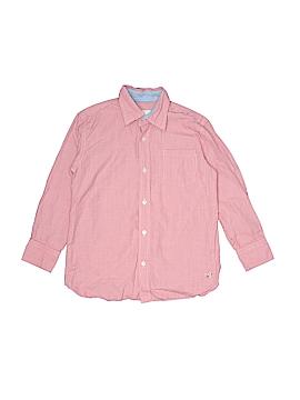 Crewcuts Long Sleeve Button-Down Shirt Size L (Kids)