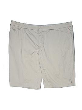 Coldwater Creek Khaki Shorts Size 18 (Plus)