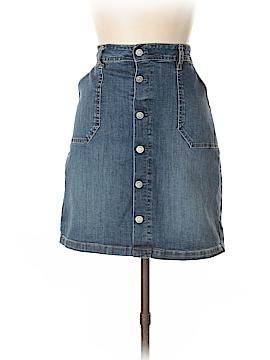 Kensie Denim Skirt Size 28 (Plus)