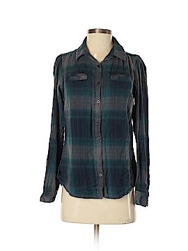 Relativity Long Sleeve Button-Down Shirt Size S