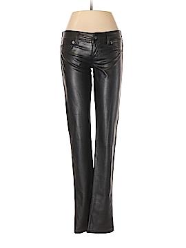 Guess Faux Leather Pants 26 Waist