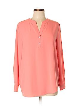 Susan Graver Long Sleeve Blouse Size 10