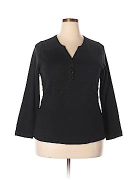 Bianca Nygard Long Sleeve Henley Size XL