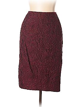 Lafayette 148 New York Silk Skirt Size 14