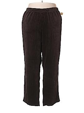 Catherines Velour Pants Size 30-32w (Plus)