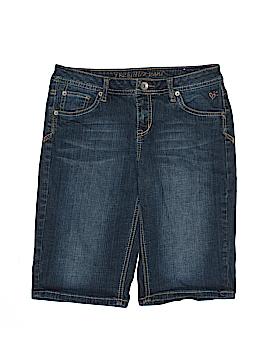 Justice Jeans Denim Shorts Size 16