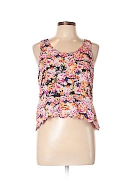 Mink Pink Sleeveless Blouse Size L