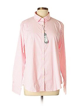 PETER MILLAR Long Sleeve Button-Down Shirt Size XL