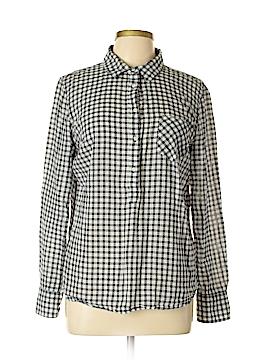 Merona Long Sleeve Blouse Size L