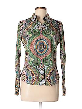 Robert Graham Long Sleeve Button-Down Shirt Size 8