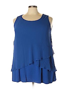 Catherines Sleeveless Blouse Size 1X (Plus)