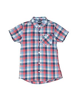 Tommy Hilfiger Short Sleeve Button-Down Shirt Size 5