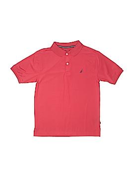 Nautica Short Sleeve Polo Size 12