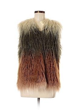 Fab'rik Faux Fur Vest Size M