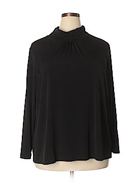 Susan Graver 3/4 Sleeve Top Size 3X (Plus)