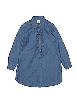 Arizona Jean Company 3/4 Sleeve Button-Down Shirt Size 7