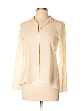 Cynthia Steffe Long Sleeve Button-Down Shirt Size S