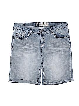 Hydraulic Denim Shorts Size 18 (Plus)