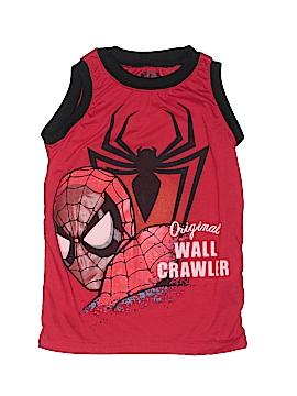 Marvel Sleeveless T-Shirt Size 5