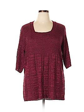 Elena Solano Pullover Sweater Size 1X (Plus)