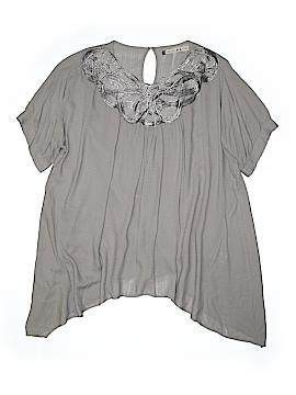 Chelsea & Violet Short Sleeve Blouse Size L