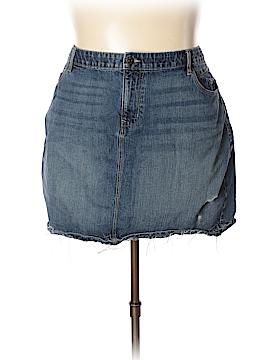 Old Navy Denim Skirt Size 22 (Plus)