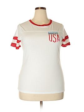 Arizona Jean Company Short Sleeve T-Shirt Size 2X (Plus)