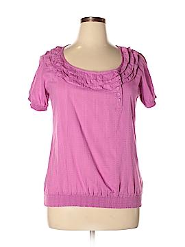 Ruff Hewn Short Sleeve Blouse Size 12 - 14