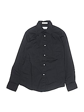 Van Heusen Long Sleeve Button-Down Shirt Size 12