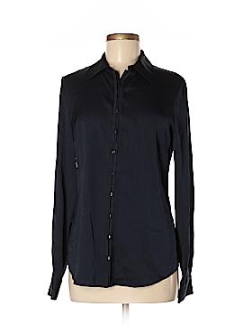 Elie Tahari Long Sleeve Button-Down Shirt Size M