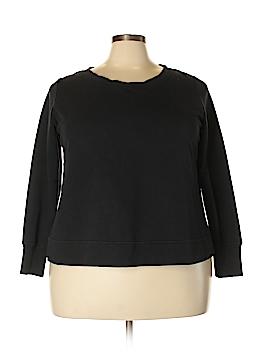 H By Halston Sweatshirt Size 1X (Plus)