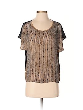 Club Monaco Short Sleeve Silk Top Size XS