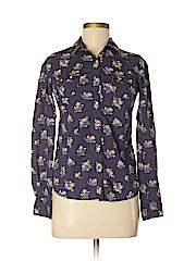Mossimo Supply Co. Women Long Sleeve Button-Down Shirt Size XS