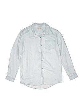 Tucker + Tate Long Sleeve Button-Down Shirt Size 10 - 12