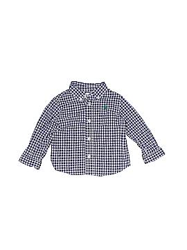 Ralph by Ralph Lauren Long Sleeve Button-Down Shirt Size 9 mo
